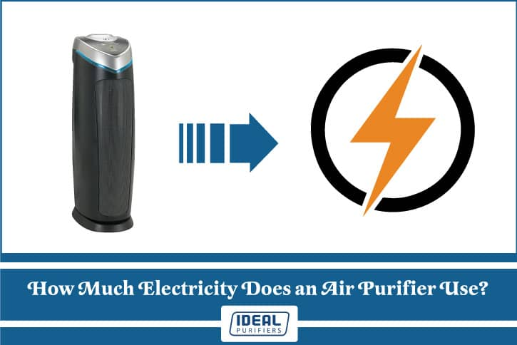 how much electricity does an air purifier use
