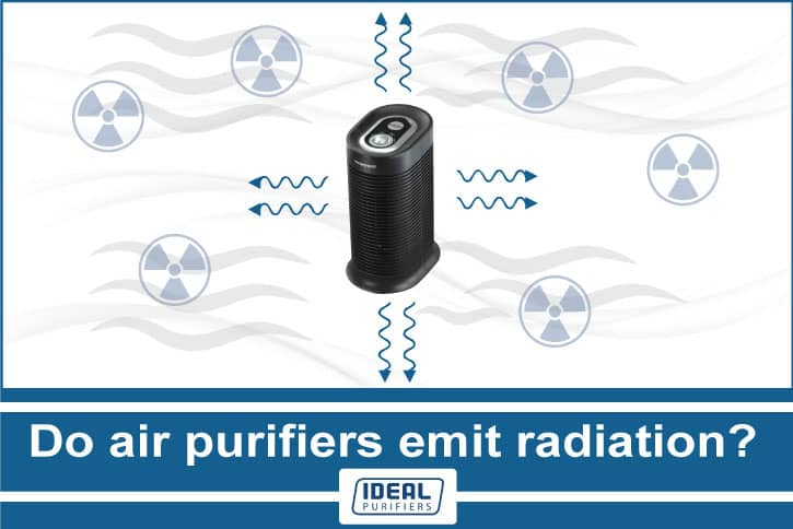 Do air purifiers emit radiation