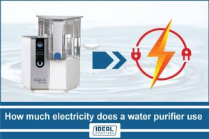 How much electricity does a water purifier use
