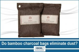 do bamboo charcoal bags eliminate dust