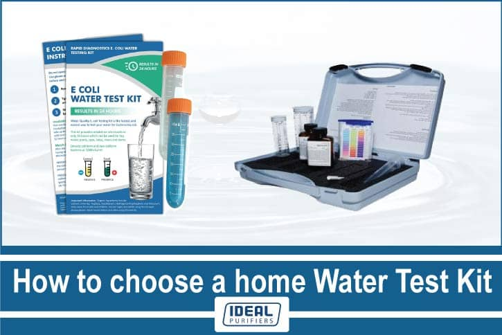 how to choose a home water test kit