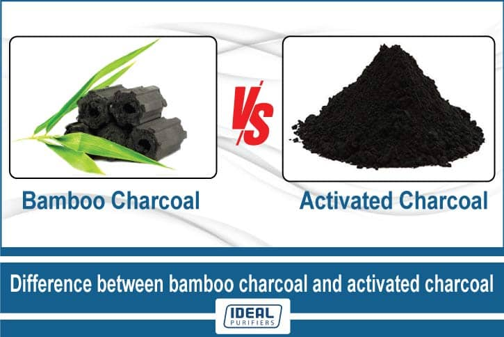 Difference between bamboo charcoal and activated charcoal