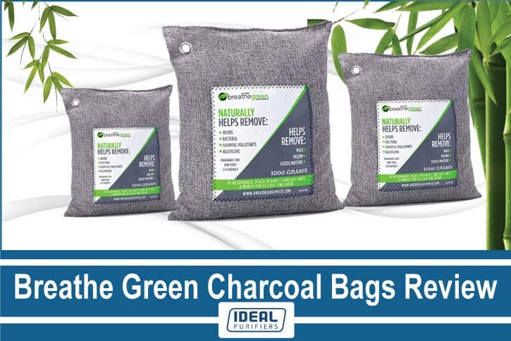breathe green charcoal bags review