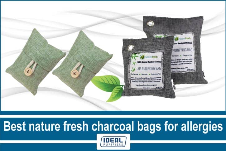 Best nature fresh charcoal bags for allergies
