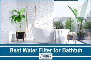 Best Water Filter for Bathtub